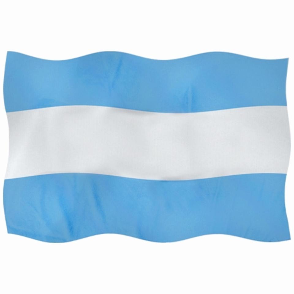 La imagen corresponde a la bandera argentina.